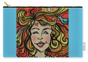 Crazy Hair Carry-all Pouch