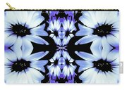 Crazy Lavender Daises Carry-all Pouch