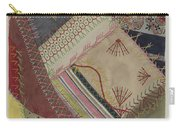 Crazy Quilt (detail) Carry-all Pouch