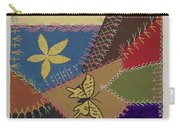 Crazy Quilt (section) Carry-all Pouch