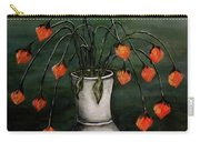 Crazy Red Flowers Carry-all Pouch