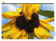 Crazy Sunflower Look Carry-all Pouch