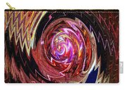 Crazy Swirl Art Carry-all Pouch