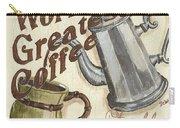 Cream Coffee 1 Carry-all Pouch by Debbie DeWitt