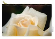 Cream Rose Kisses Carry-all Pouch
