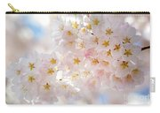Creamy Blossoms Carry-all Pouch