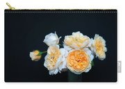 Creamy English Roses Carry-all Pouch