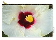 Creamy Hibiscus With Rain Drops Carry-all Pouch