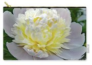 Creamy Petals - Double Peony Carry-all Pouch
