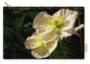 Creamy Poppies Carry-all Pouch