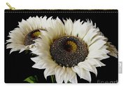 Creamy Sunflowers Carry-all Pouch