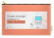 Create Your Own Content Strategy For 2017  Carry-all Pouch