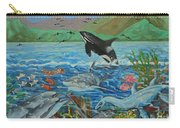 Creation Fifth Day Sea Creatures And Birds Carry-all Pouch