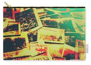 Creative Retro Film Photography Background Carry-all Pouch