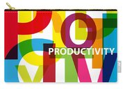Creative Title - Productivity Carry-all Pouch