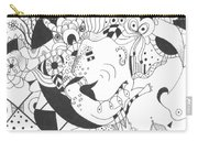 Creatures And Features Carry-all Pouch by Helena Tiainen