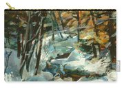 Creek In The Cold Carry-all Pouch