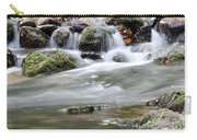 Creek With Rocks Spring Scene Carry-all Pouch