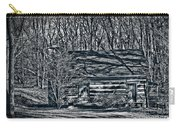 Creepy Cabin In The Woods Carry-all Pouch
