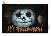 Creepy Halloween Pumpkin Carry-all Pouch