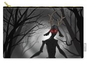 Creepy Nightmare Waiting In The Dark Forest Carry-all Pouch