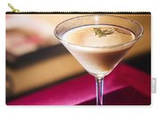 Creme Caramel Martini Cocktail In Bar Carry-all Pouch