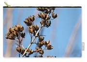 Crepe Myrtle In Blue Carry-all Pouch