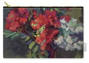 Crepe Myrtles In Glass Carry-all Pouch