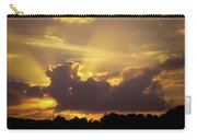 Crepuscular Rays Of Sunlight Carry-all Pouch