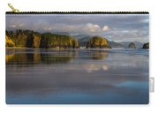 Crescent Beach Reflections Carry-all Pouch