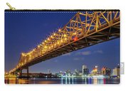Crescent City Bridge, New Orleans, Version 2 Carry-all Pouch