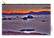 Crescent Moon Above Tahoe Carry-all Pouch