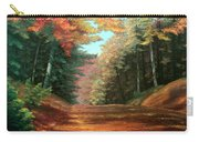 Cressman's Woods Carry-all Pouch by Hanne Lore Koehler