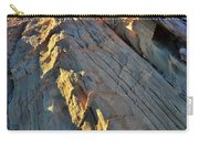Crest Of Sandstone Wave At Sunset In Valley Of Fire Carry-all Pouch