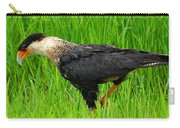 Crested Caracara 3 Carry-all Pouch