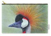 Crested Crane Carry-all Pouch by Phyllis Howard
