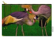 Crested Cranes Carry-all Pouch