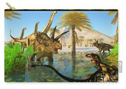 Cretaceous Swamp Carry-all Pouch