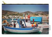 Crete Fishing Boats Carry-all Pouch