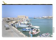 Crete Island Harbour  Carry-all Pouch