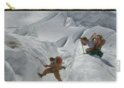 T-104807-crevasse Crossing Mt. Rainier  Carry-all Pouch