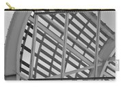 Cricket Stadium Architecture Black And White Carry-all Pouch