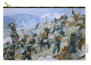 Crimean War And The Battle Of Chernaya Carry-all Pouch by Italian School