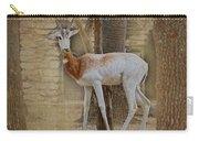 Critically Endangered Dama Gazelle Carry-all Pouch
