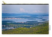 Croatian Islands Archipelago Aerial View Carry-all Pouch