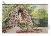 Crockett California Saint Rose Of Lima Church Grotto Carry-all Pouch