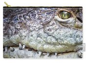 Crocodile Eye Carry-all Pouch