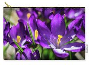 Crocus Amongst Us Carry-all Pouch