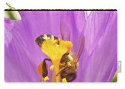 Crocus And The Bee Carry-all Pouch