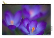 Crocus Blooms Carry-all Pouch
